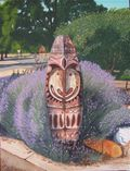 Sepik Shield & Lavender