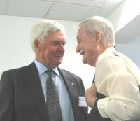 Michael Jeffery & Jim Sinclair