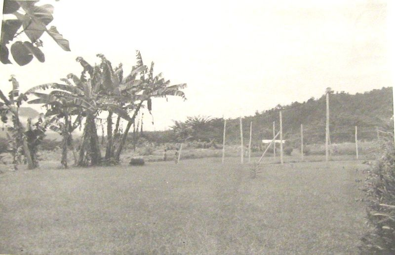 Pindiu Tennis Court 1969
