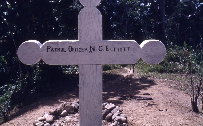 POr Elliott who died near Nuku in the Lumi area, in 1939