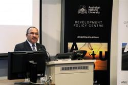Peter O'Neill at Development Policy Centre