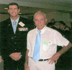 Ben Roberts-Smith VC and Frank Alcorta MID