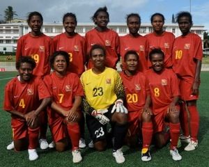 Papua New Guinea won the women's football tournament at the 2011 Pacific Games (photo OFC)
