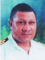 Reginald Renagi (ex PNGDF colonel, naval element)