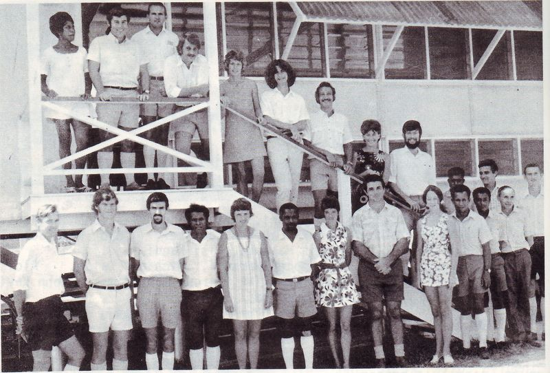 1971 Brandi High School Staff