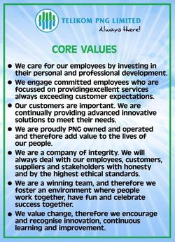 Telikom Approved Core Values