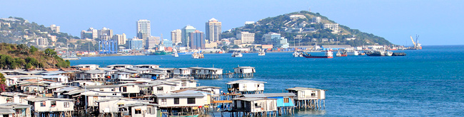 Port Moresby - first settled by the Motu-Koitabu people