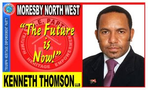 Kenneth Thomson election flier