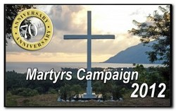 Martyrs Campaign Logo