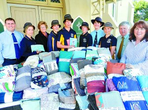 Principal & pupils of St Mary's, Maryborough