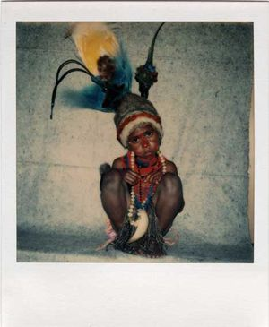 Highland girl in Goroka, 1974