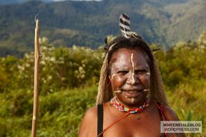 West Papuan woman