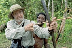 Jared Diamond and PNG friend