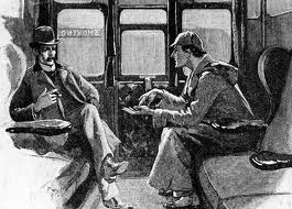 Watson and Holmes entrained
