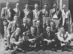 1st ASOPA Long Course 1949. Fred Reitano is middle row, second from right