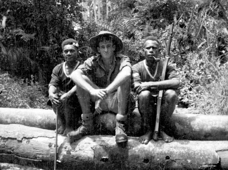 Bill Brown, Goilala 1951