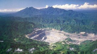 Panguna as the mine was
