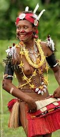 Young Trobriand Islands woman