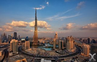 World's tallest tower, Dubai's 800m Burj Khalifa