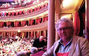 In the loggia at Royal Albert Hall