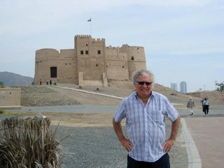 Keith at Fort Fujairah