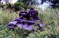 WW2 relic in Boku area