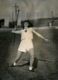 Greta Hard - champion teachers college athlete