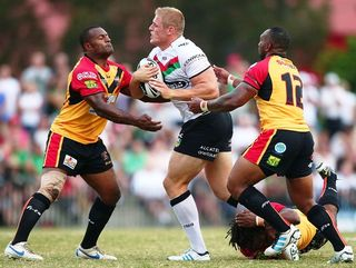 PNG trial against South Sydney