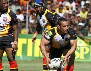 Kumuls on the charge