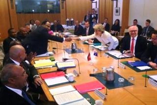 Australian and PNG ministers meet for the 22nd Australia-PNG Ministerial Forum in Canberra