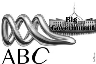 ABC logo - big government