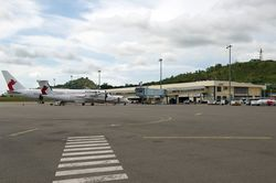 International ramp at Jacksons Airport (Leighton)