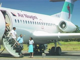 Air Niugini jet