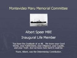 Albert Speer Life Membership