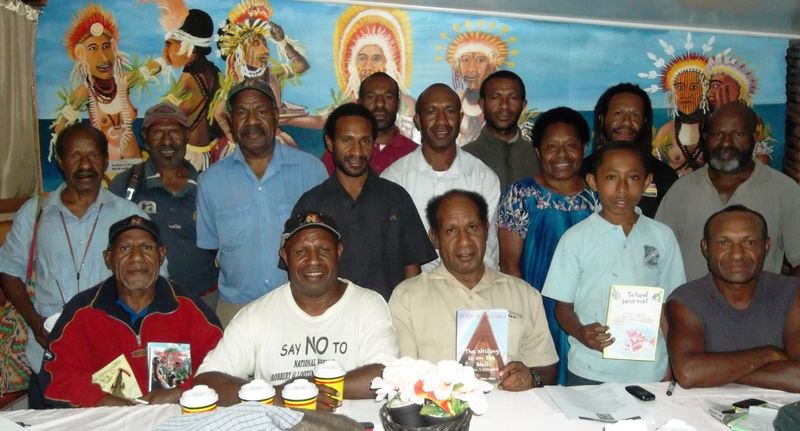 First meeting of the Simbu Writers Association