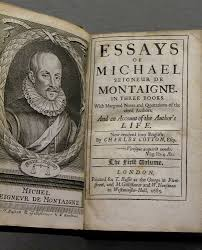 De Montaigne and his essays