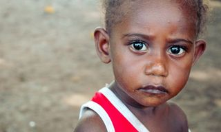 Bougainville child