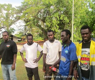 Bougainville students eyeing a political future