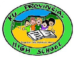 Ku High School logo