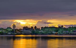 Madang sunrise