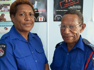 RPNGC police officers (DFAT)