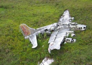 The Grey Ghost B-17 wreck