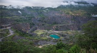 The Panguna mine today (Global Mail)