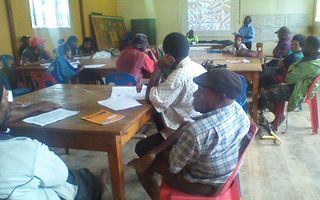 Simbu Disabled People's Organisation establishment workshop