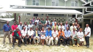 Awi - Simbu leadership training group