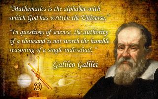 The wisdom of Galileo