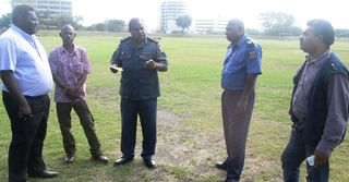 Security sub-committee inspects Arts Festival venue