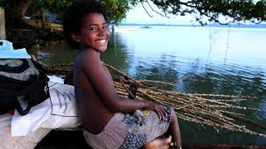 Girl at Mokerang Village, Los Negros