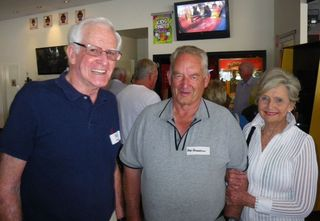 Bill Brown, Ross Henderson, Pam
