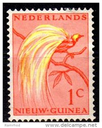 Netherlands New Guinea stamp